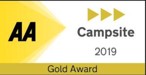 Roselands Campsite gold award